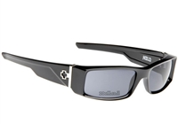שחור/עדשה אפור POLARIZED, קוד צבע: Black Shiny/Grey Polarized